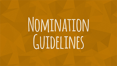 Nomination Guidelines